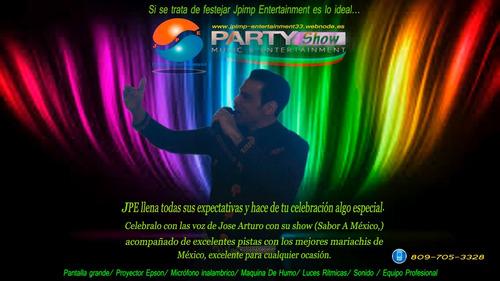 cantantes para fiestas y eventos