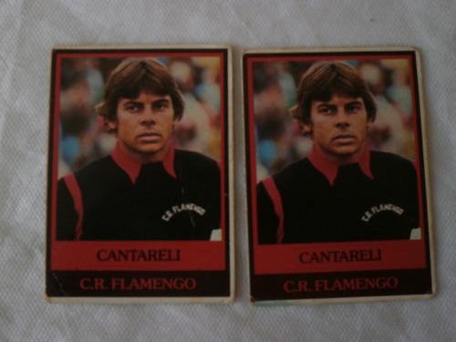 cantarelli flamengo, futebol cards ping pong 106, original