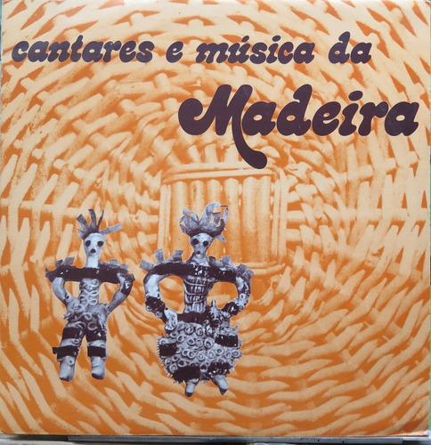 cantares música folclore da madeira  lp stereo album duplo