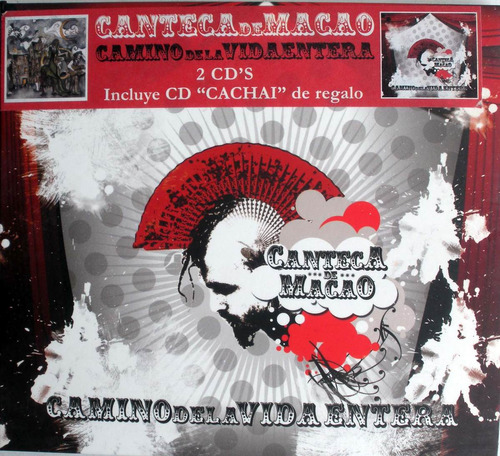 canteca de macao- camino de la vida entera- 3 cdspromo nac