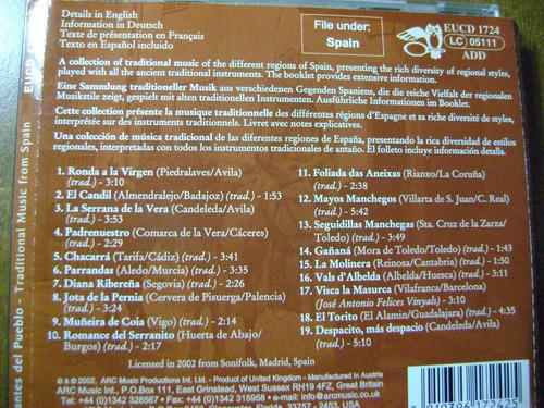 cantes del pueblo  traditional music of spain