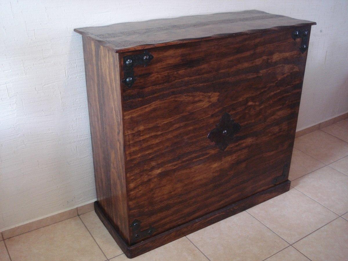 Cantina barra r stica madera de pino excelente calidad for Barras rusticas de madera para bares