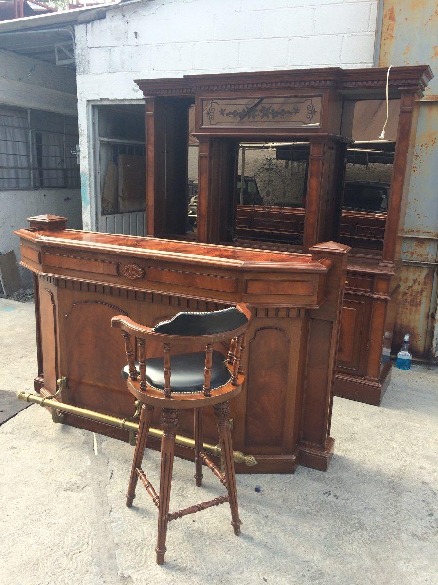 Cantina con barra en madera 40 en mercado libre - Barras de madera ...