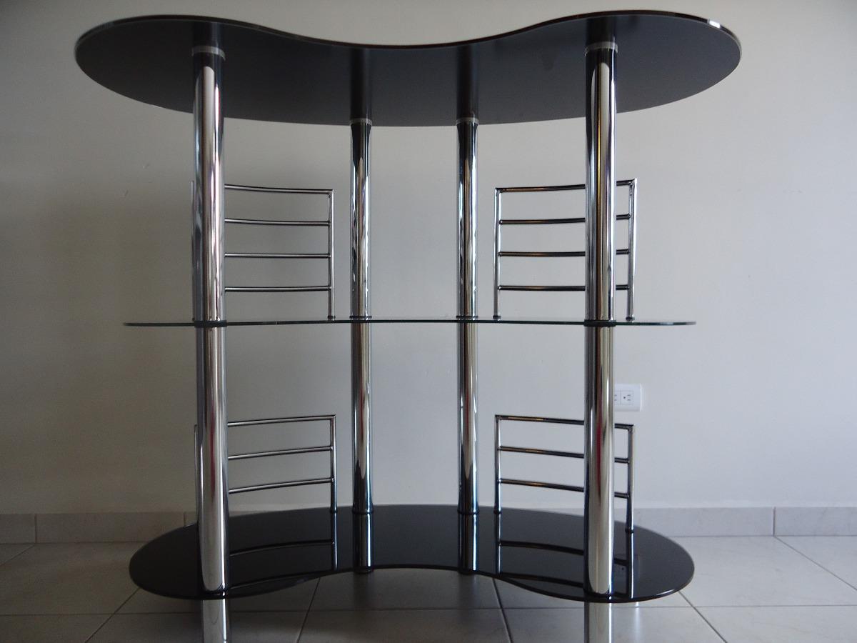 Cantina de cristal con tubos acero inoxidable usada - Tubos de acero inoxidable ...