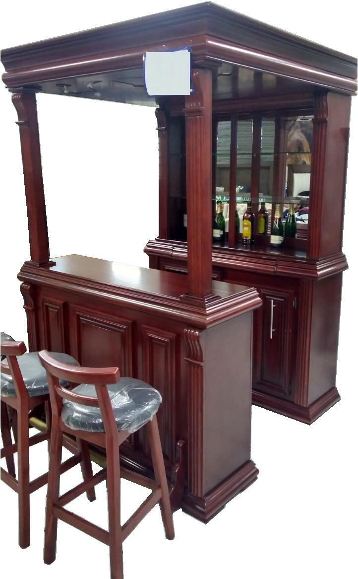 Cantina de lujo alta calidad madera bar con luz oferta for Modelos de bares para casa en madera