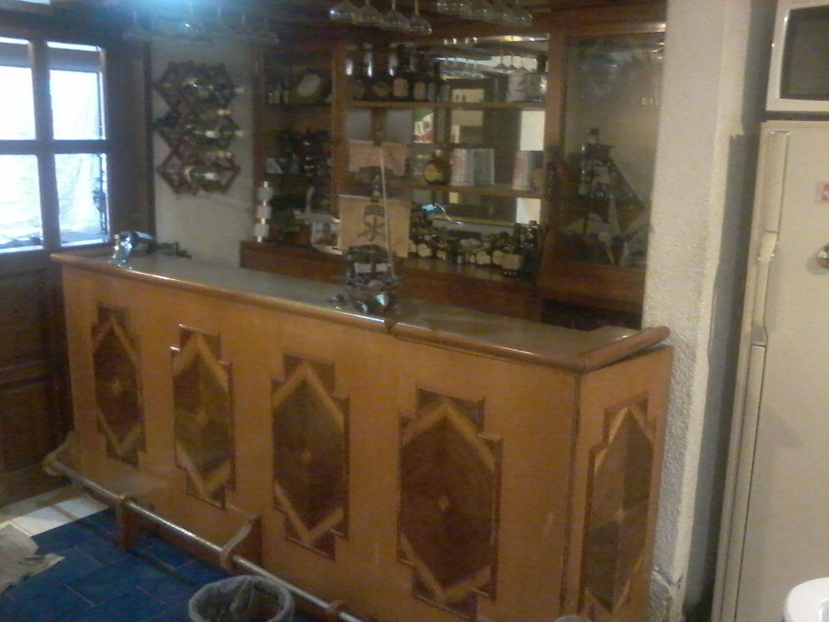 Cantina de madera 9 en mercado libre for Precio de puertas tipo cantina