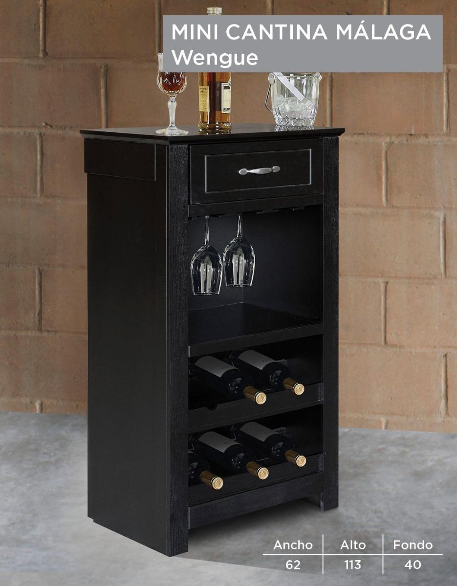 Cantina mini vinos copas de madera chica peque a 1 900 for Precios de bares de madera