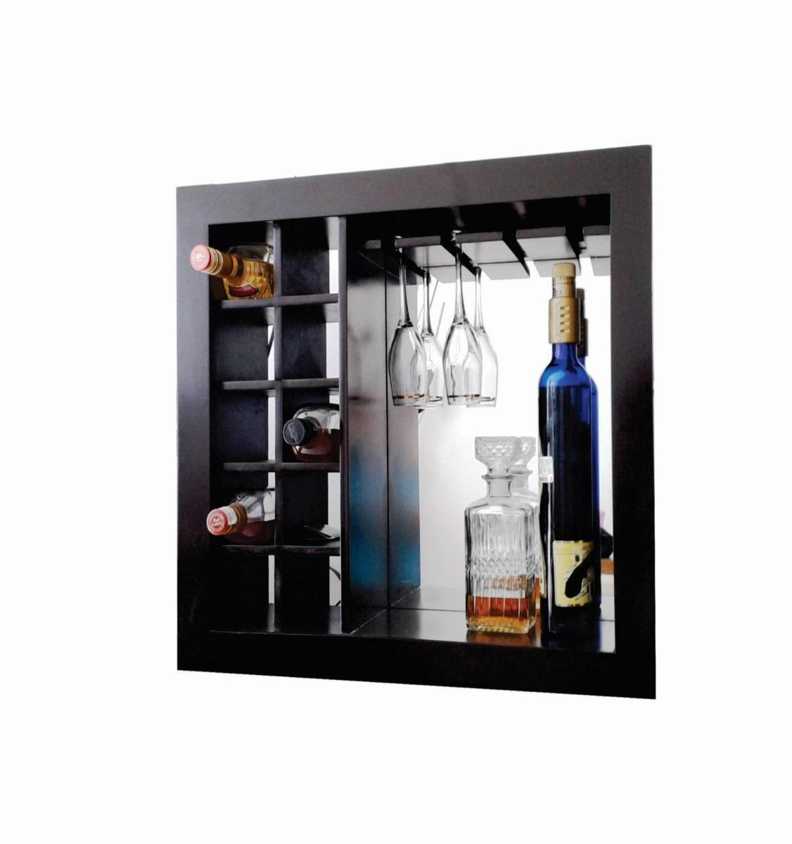 Muebles para botellas y copas 20170804202851 for Muebles de pared