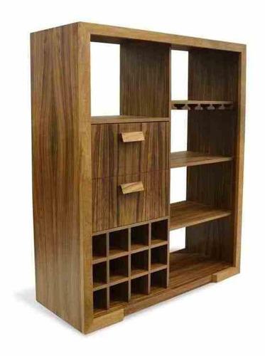 cantina rashidi nogal - inlab muebles