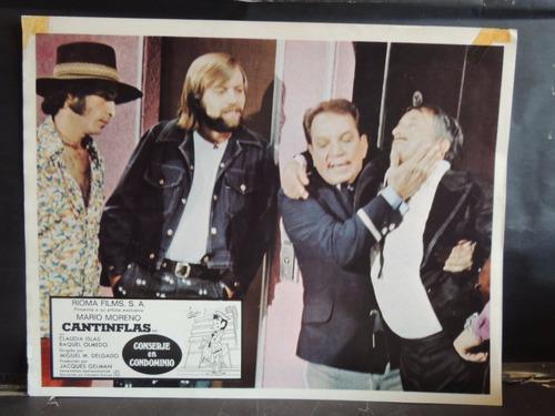cantinflas conserje en condominio lobby card / cartel