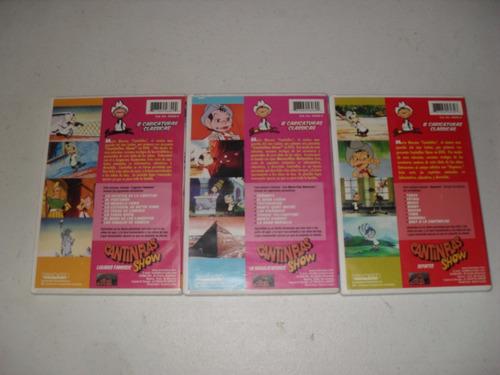cantinflas show 3 dvds importado usa