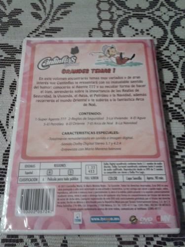 cantinflashow vol 11 dvd original español