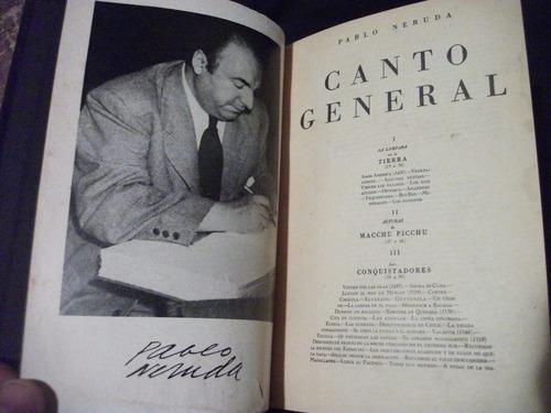 canto general, pablo neruda. 1952, méxico.
