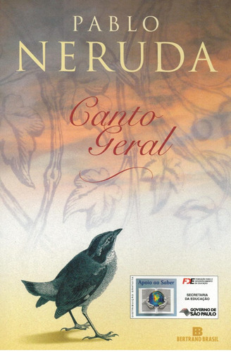 canto geral - pablo neruda - poesia chilena - promoção
