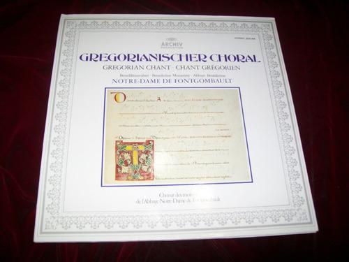 canto gregoriano en notredame fontgombault lp envio gratis