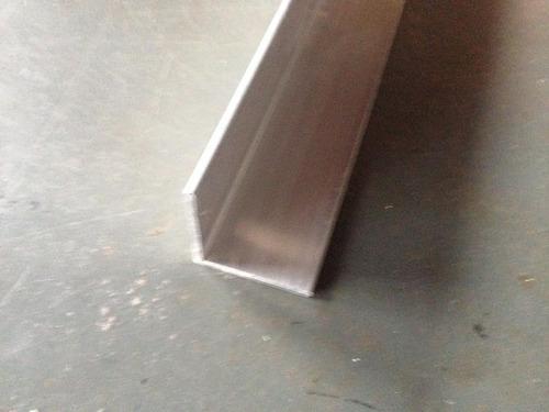 cantoneira aluminio 1''x1/16'' pol.x 1,00mt  (25,4mmx1,52mm)