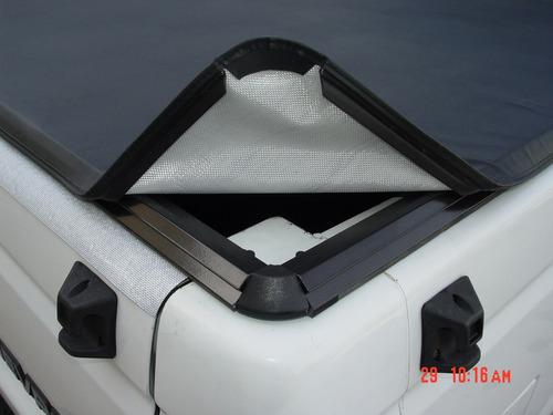 cantoneira nylon p/ capota prudentina modelo encaixe (2 pç)