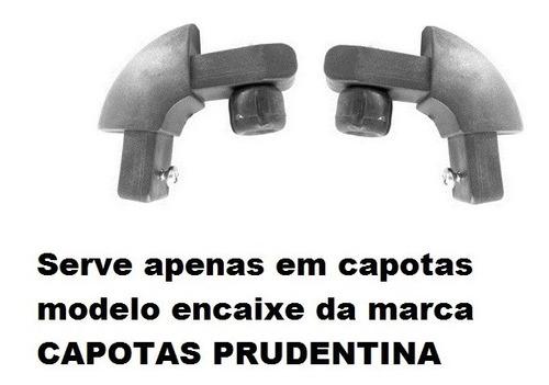 cantoneira nylon p/capota prudentina mod. encaixe(2 pç)pc188
