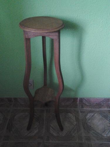 cantoneira- tripé em madeira maciça