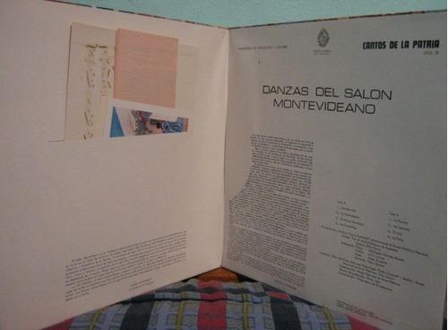 cantos de la patria - volume 6 lp importado uruguai