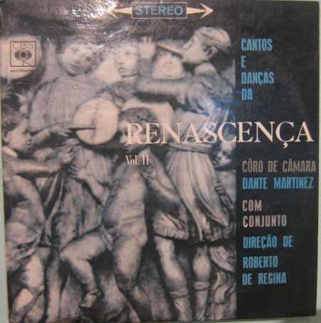 cantos e danças da renascença - volume 2 - 1971
