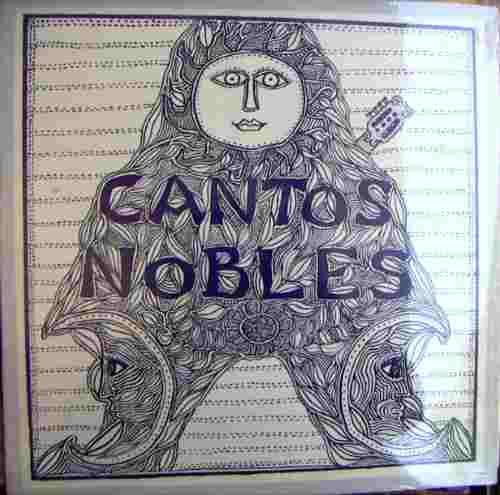 cantos nobles, ( beno lieberman / federico arana ), lp 12´,