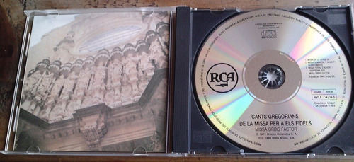 cants gregorians de la missa per a els fidels orbis facto cd