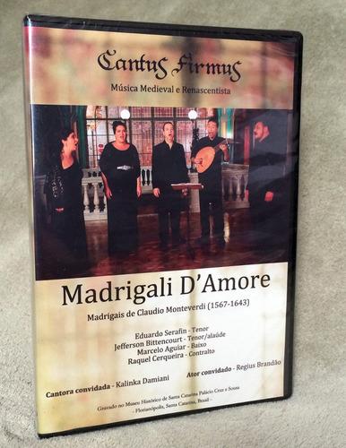 cantus firmus dvd - claudio monteverdi (1567-1643)