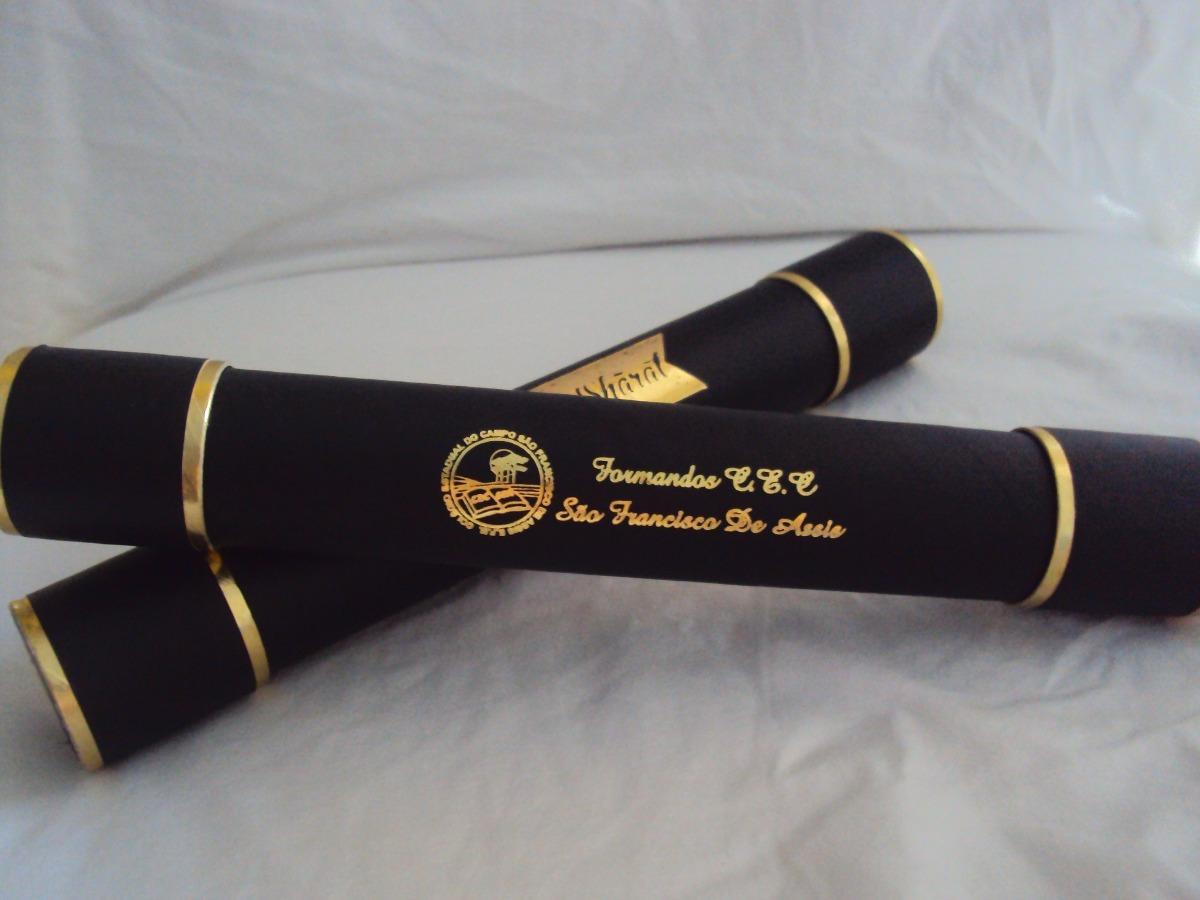 Valmor Artesanato Joinville ~ Canudo Formatura Personalizado 1 u00aa Linha Percalux R$ 6,00 em Mercado Livre