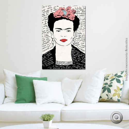 canvas haus for fun frida 60x90