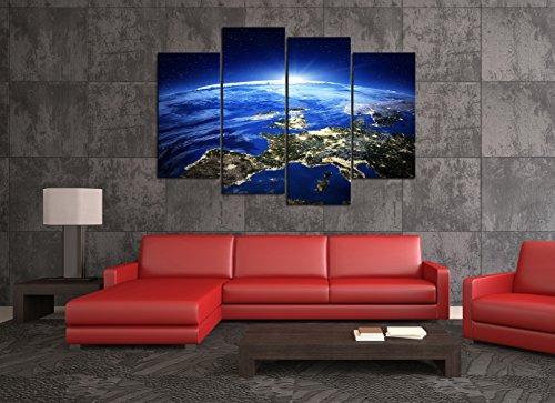 Cao Gen Decor Art-a43038 4 Paneles Enmarcados - $ 164.733 en Mercado ...