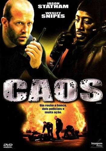 caos - ação jason e wesley snipes dvd original novo lacrado