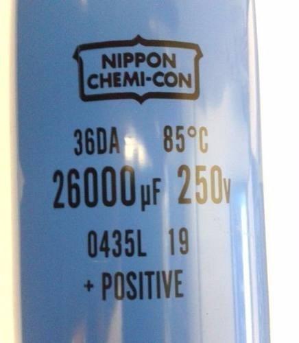 cap. eletr. giga 26000uf x 250v 85°c nippon chemi-com