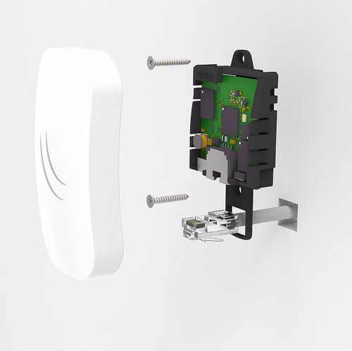 cap lite 2.4ghz ap wireless low cost ideal hoteles mikrotik