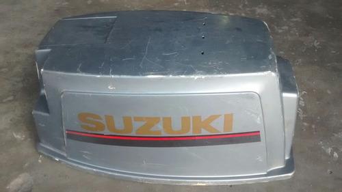 capô p/ motor de popa suzuki 40 hp