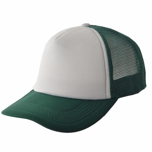 cap trucker frente blanco compañia de sombreros cs621051