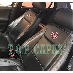 Capa 100% Couro Banco Carro Fiat Uno Palio Argo Idea Siena