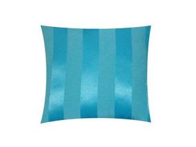 fb983fca320f7b Capa Almofada Sofá Decorativa Listrada Azul Claro - D'rossi