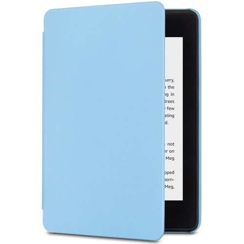 capa amazon nupro para kindle novo paperwhite azul claro