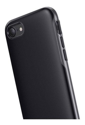 capa anker breeze preta apple iphone 7 8 plus militar grade