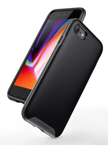 capa anker breeze preta apple iphone 7 8 tpu militar grade