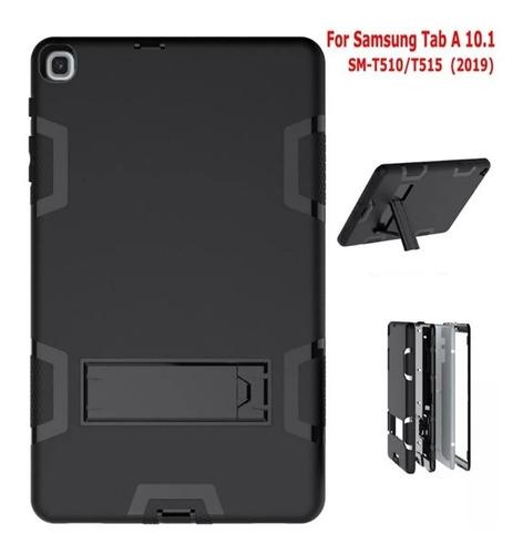 capa anti-choque samsung tab a t510 t515 + caneta