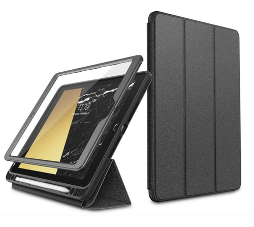 capa anti-impacto 360º p/ apple ipad 10.2 7ª i-blason cosmo