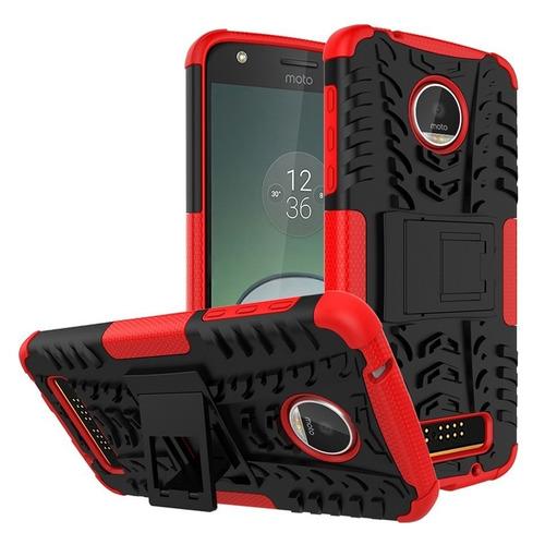 capa anti impacto celular motorola moto z play dual xt1635