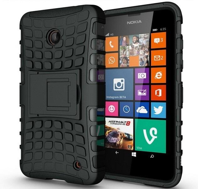 Capa Anti Impacto Celular Nokia Lumia 630 635 Armor R