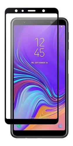 capa anti impacto galaxy a7 2018 a750 + película de vidro 5d