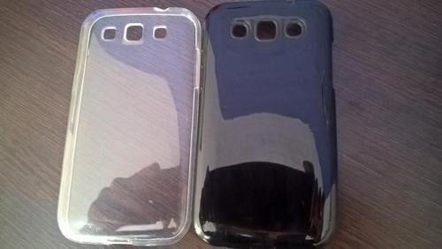 capa anti impacto galaxy win duos i8552 + película de vidro