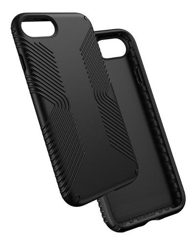capa anti-impacto grip para apple iphone 7 ou 8 - preta