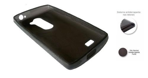 capa anti impacto queda lg volt h422 + película de vidro