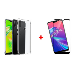 Capa Anti Impacto Zenfone Max Plus M2 + Pelicula 3d Tela